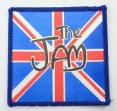 The Jam - 'Union Jack' Square Printed Patch